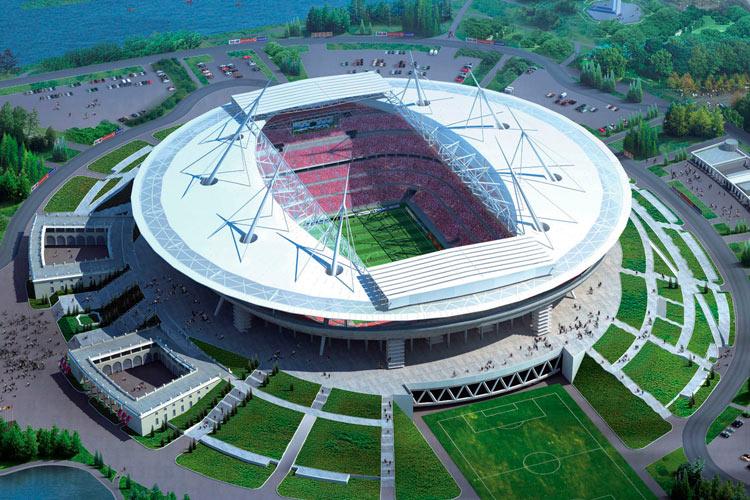 DDECAD на строительстве стадиона Зенит-Арена на Крестовском острове